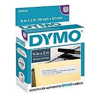 DYMO 正品 LW RETURN 地址标签适用于 labelwriter 标签打印机白色3/ X 152.4cm 1卷 OF 500