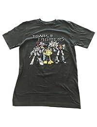 loot 木箱 TRANSFORMERS AUTOBOTS T 恤男式灰色 S