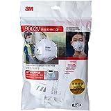 3M9002V KN90颗粒物防护口罩/PM2.5雾霾防护口罩 (头戴式/呼吸阀)6只装(特卖)(新老包装更替 随机发货)
