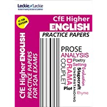 Practice Papers for SQA Exam Revision – Higher English Practice Papers: Prelim Papers for SQA Exam Revision (English Edition)