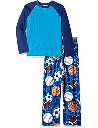 komar 儿童大男孩运动2件套睡衣套装