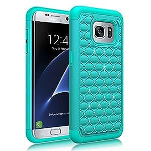V-S7 Edge Samsung Galaxy S7 Edge 青色/蓝绿色