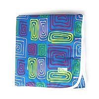 设计师图案超软可水洗大号款 73.66 厘米 x 73.66 厘米尿*椅或床垫 1.00