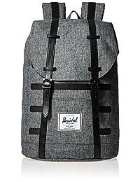 Herschel Supply Retreat 中性 经典系列 时尚双肩背包 10066 19.5 L(亚马逊进口直采,加拿大品牌)
