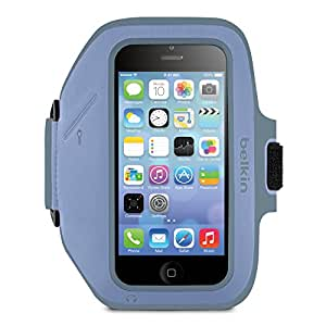 Belkin Armband Case for iPhone 5 and 5s - Retail Packaging - Pale Blue