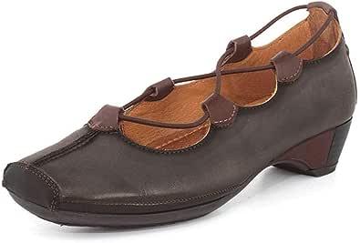 Pikolinos 女士 Gandia 849-2531 一脚蹬鞋 铅色 37 EU (6.5-7 M US Women's)