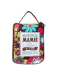 LES PETITES NANAS 04221000006 Les 购物袋 Mamie-04221000006,涤纶,多色,棕色,蓝*,蓝色,红色,黄色,均码