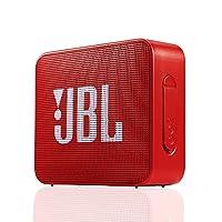 JBL GO2 音乐金砖二代 蓝牙音箱 低音炮 户外便携音响 迷你小音箱 可免提通话 防水设计 宝石红(亚马逊自营商品, 由供应商配送)