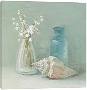 iCanvasART WAC191 Lily of The Valley Spa Canvas Print by Danhui Nai, 12 by 12-Inch, 0.75-Inch Deep