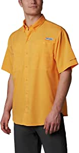 Columbia Tamiami Ii 短袖衬衫 小号 橙色 1287051-841-Small