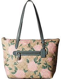 COACH 女士迷彩玫瑰泰勒手提包