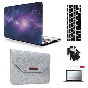"keyrun macbook pro [ 2016版 ] hardshell Cases [ 5合1套装 ] Galaxy 01 MacBook Air 13"""