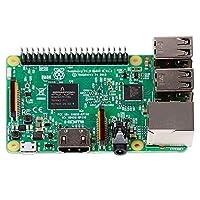 Raspberry Pi 3 Model B 树莓派3代B型控制器 含5V2.5A电源适配器电源