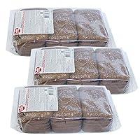 4袋 甜蜜农庄 俄罗斯进口 饼干 330g 早餐饼干 休闲零食 (嗨皮牛巧克力饼干)