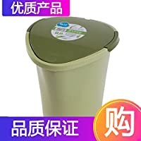 茶花茶水桶茶具配件茶渣桶塑料垃圾茶桶茶几桶泡茶桶茶道桶绿色