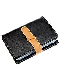 DEEZOMO PU 皮信用卡包,26个卡槽