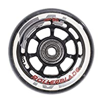 Rollerblade 72mm Inline Skate Wheel and Bearing 8-Pack Kit