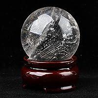 水晶 天然白水晶球摆件 球直径9cm