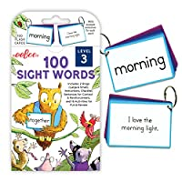 eeBoo 100 Sight Words 闪存卡 3 级