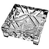 Crystaljulia 3253 装饰碗,4 英尺碗,水晶,旋转星图案装饰,抛光,11 x 11 厘米