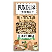 Pundits Milk Chocolate & Roasted Hazelnuts 100g(Pack Of 12)