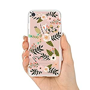 opqo 透明 TPU 手机壳,适用于 iPhone 7/8 compatible with iphone 7/8 spring lover
