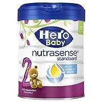 荷兰Hero Baby 婴幼儿配方奶粉白金版2段(6-12个月) 800g*12罐(荷兰品牌 保税区发货) 包税