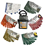 Ultimate Survival Technologies 20-02752 Gry 户外或外部技能卡片套装