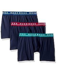 HUGO BOSS 男式平角内裤3P CO/EL