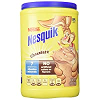 Nestle Nesquik Chocolate Powder 41.9 oz 雀巢巧克力可可粉1.19公斤 不含人工色素和调味剂 美国直邮包邮包税