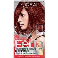L'Oreal Paris Feria Hair Color 56 Auburn Brown (Packaging May Vary)