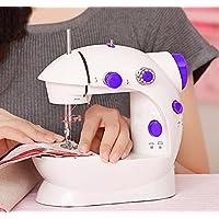 家用电动缝纫机便携台式电动小型迷你多功能带灯202缝纫机 人性化设计,综合所有缝纫机的特点 稳定性还是操作都遵循人的习惯 真材实料 采用优质塑料 重要部件采用精钢制作