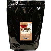 numi organic tea breakfast blen, loose full black tea, 16 ounce bulk pouch