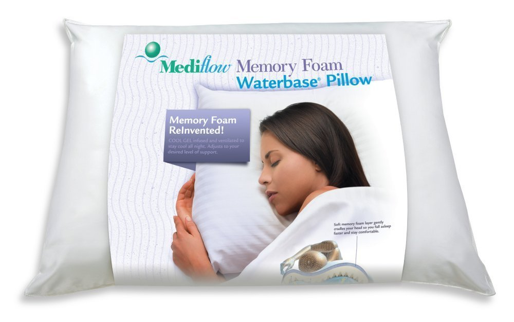 Mediflow 美的宝 记忆凝胶安眠水枕头 Mediflow Original Memory Gel Foam Waterbase Pillow