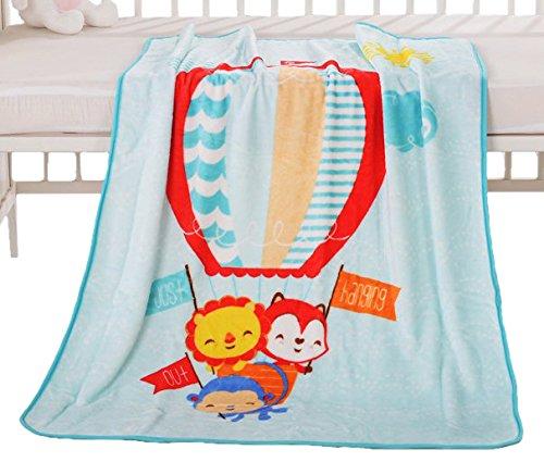 Fisher-Price 費雪 活性印染寶寶安撫毯A 86*110cm 0-36個月 禮盒裝(親膚保暖)