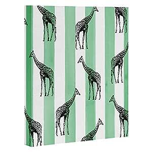 Deny Designs Natalie Baca 波尔卡圆点和条纹帆布墙壁艺术 Stripes and Spots 16 x 20 51424-artca2