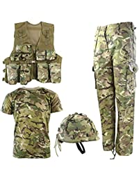 Kombat UK 儿童 BTP *军套装