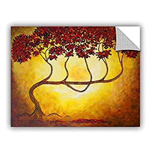 """ArtWall Herb Dickinson's Ethereal Tree I Art Appeelz Removable Graphic Wall Art, 14 x 18"""""""