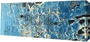 "PrintArt GW-POD-32-PG200-A-24x10""Treading Water II"" PI Gallery Wrapped Giclee 油画艺术印刷品,60.96 x 25.4 厘米"