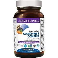 New Chapter 維生素 B 復合物補充劑 含維生素 B12 維生素 B6 生物素 食物復合物 30 片