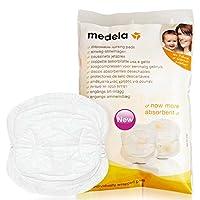 Medela 美德乐一次性舒适干爽透气防溢乳垫4片装
