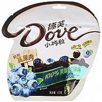 德芙蓝莓黑巧克力100g