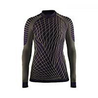 Craft 女士 绿标贴身层 运动内衣 活力系列 适合中高运动强度 温度-5°C到10°C 跑步、滑雪、骑行、多运动 圆领长袖上衣 1905333