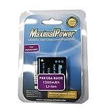 maximalpower 松下S005E 相机摄像机锂电池 1300mAh 适用于松下DMC-FX100 FX8 FX9 FX10 FX50 LX2 LX3电池 等