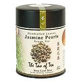 THE TAO OF 茶, handrolled 茉莉珍珠绿茶,散装茶叶,4盎司锡
