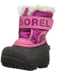 sorel SNOW COMMANDER 雪地靴小童/大童