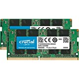 Crucial 16GB Kit (8GBx2) DDR4 2133 MT/s (PC4-17000) DR x8 260-Pin SODIMM - CT2K8G4SFD8213