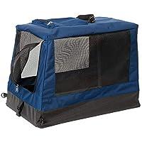 Terrain Dog 可折叠箱 – 坚固、可折叠宠物背带 – 轻质铝合金框架,耐用防水超面料外壳,经久耐用