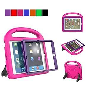 MENZO MEN020 iPad 234 儿童保护套 Rose+purple