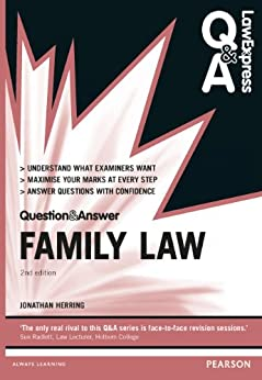 """Law Express Question and Answer: Family Law (Law Express Questions & Answers) (English Edition)"",作者:[Herring, Jonathan]"